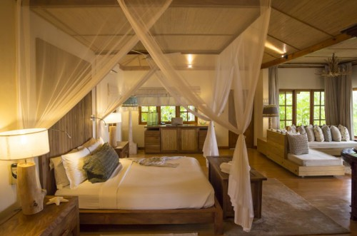 Bedroom Beach Villa