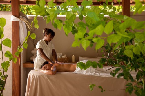 Massage in Beachfront SPA Cottage