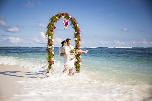 Wedding Couple Flower Arch 2